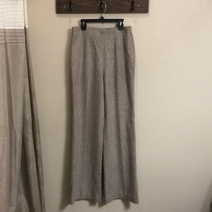 Banana Republic Wool Blend Flat Front Pant